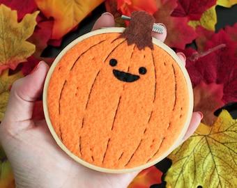 Tiny Face Pumpkin Hoop
