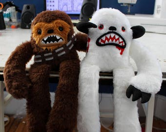 Chewbacca and Wampa