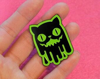 Slime Cat Enamel Pins