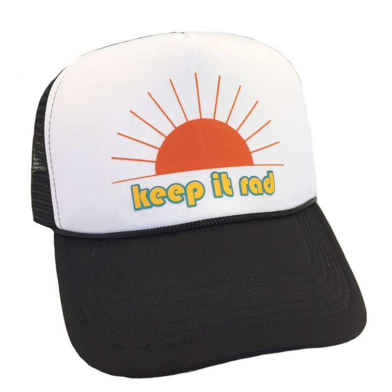 61e9fb3c3 Keep it Rad Trucker Adult Hat by Chic Baby Rose More Colors and Styles