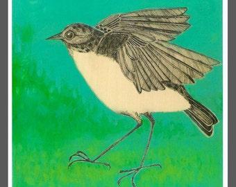 flappy bird art PRINT no. 2 c-print 8 x 8