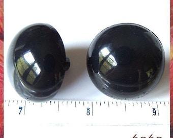 30 mm BLACK Safety Eyes Plastic Eyes Animals Eyes - 1 pair 2 pairs 3 pairs