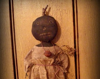 Pumpkin head Olivia E-Pattern