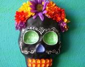 Flower Head Skull