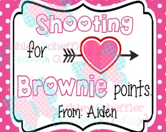 photo regarding Shooting for Brownie Points Free Printable called Merchandise comparable in the direction of Trainer Valentines - Printable Trainer