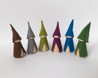 Wood and Wool Gnomes