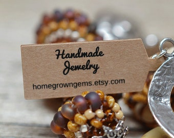 jewelry tags etsy