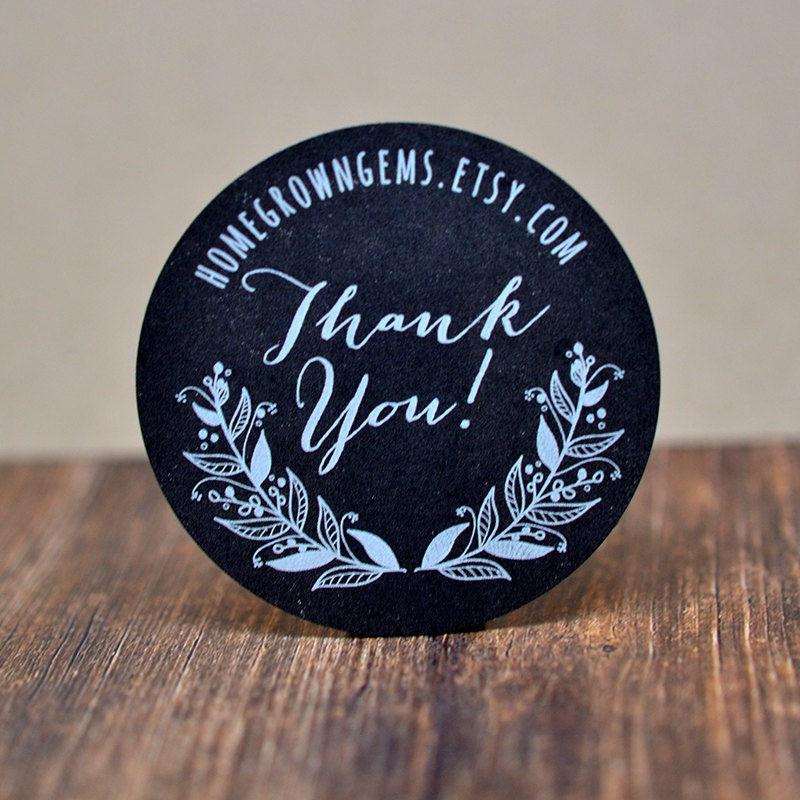 1.5 Circle Labels//500 per Pack Bohemian Chic Thank Yous Bohemian Arrow Thank You Stickers