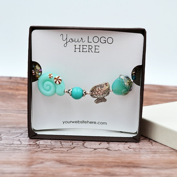 Custom Bracelet Display Cards Jewelry Display Cards Ds0123 Etsy