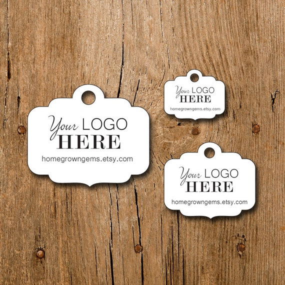 180 tags 1.5 Ornate Cut Curved Top DS0113 Customized Small Price Tags Jewelry Hang Tags Labels