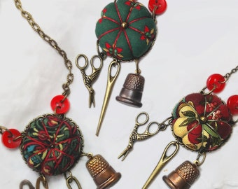 Chatelaine Sewing Necklaces - LIMITED EDITION
