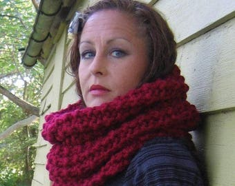 Instant download PDF Pattern Incognito Chunky knit Cowl