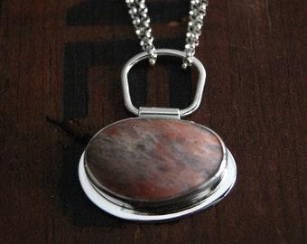 Beach Pebble necklace no. 1
