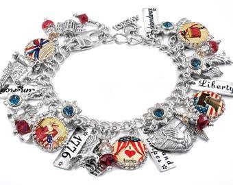 Helpful North Dakota State Flag Italian European Style Bracelet Charm Bead Less Expensive Charms & Charm Bracelets Fashion Jewelry