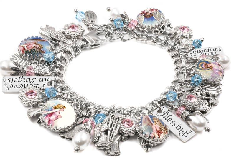 1fdce98bd Angel Jewelry Angel Bracelet Angel Wings Personalized Angel   Etsy