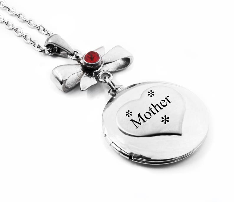 Mother Son Necklace Gift to Mom from Son engraved stainless steel Mother Son Photo The Love between a Mother and Son quote