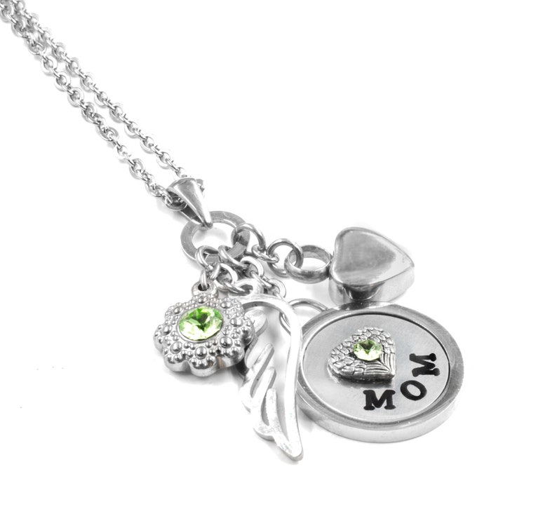 76ad83bececbb Cremation Urn Necklace, Engraved Name Pendant, Memorial Jewelry, Waterproof  Charms, Heart Urn, Loss of Mom