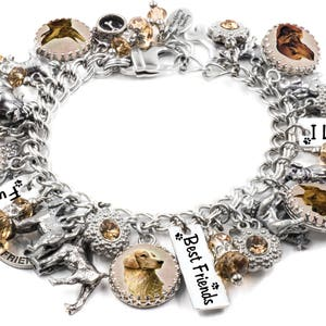 Bff Best Friends Forever Dog Cat Tag Clip On Charm Lobster Clasp Link Bracelet Necklace
