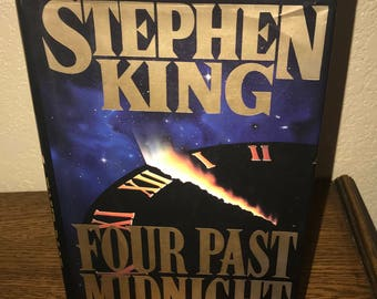 Four Past Midnight by Stephen King-Hardback Book-1st Edition, 1st Printing 1990