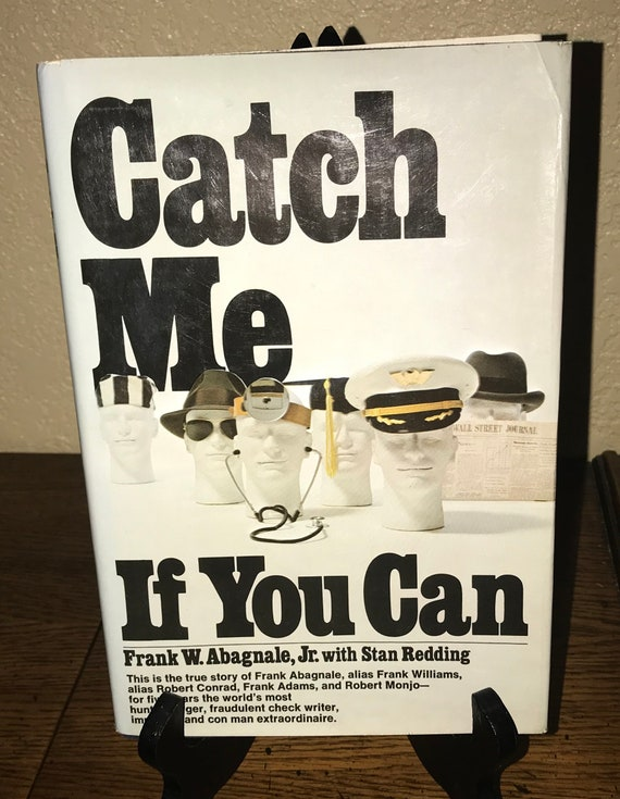 catch me if you can by frank w abagnale jr with stan etsy
