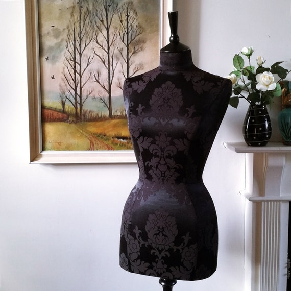 Home Decor Fabric Covered Display Mannequin Dress Form