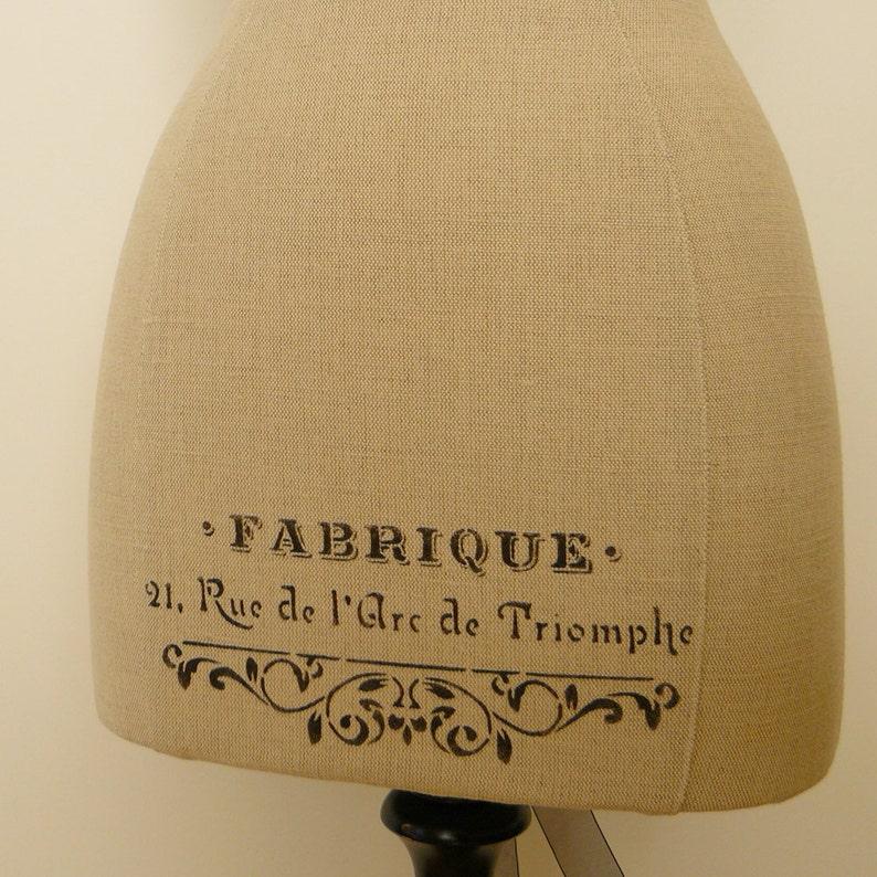 Display Mannequin Antique French Inspired Ateliers Mannequin Matilda