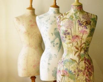 Unique Womans Gift Display Home Bedroom Decor Mannequin Dressform - Meadow