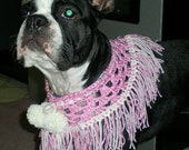 All Pink and White Neckwear for Dog, Cat, Doll