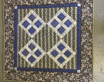 Square table topper wall hanging