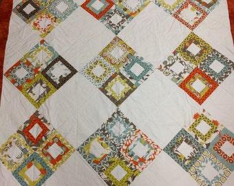 Contemporary Block Quilt
