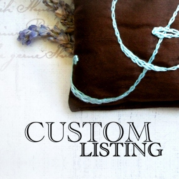Custom Listing for Crystal