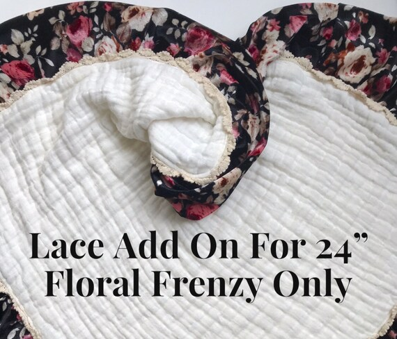 "Lace Add On for Floral Frenzy 24"" Lovey Only"