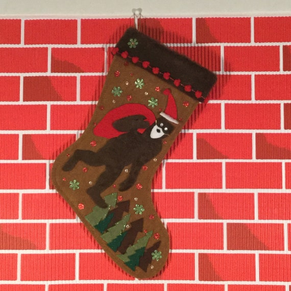 Wildlife Camouflage Quilted Christmas Stocking