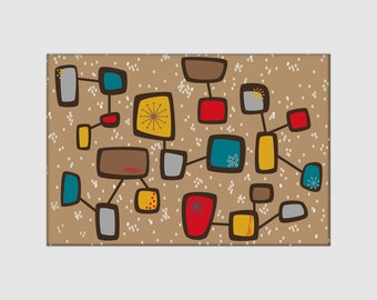 """Contactual 2""""x3"""" Rectangle Magnet - Buy 4 get 1 free!"""