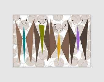 "Brown Butterflies 2""x3"" Rectangle Magnet - Buy 4 get 1 free!"