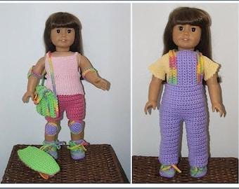 Crochet Pattern-AG Weekend Fun Sports Set
