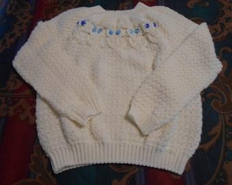 Hootin' Pullover Sweater-Crochet Pattern