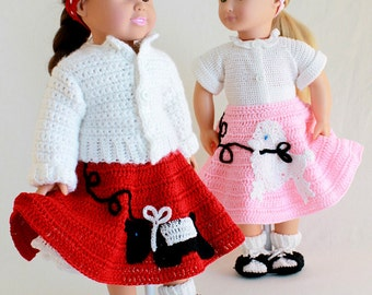 Crochet Pattern-At the Hop
