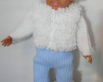 Crochet Pattern-AG Snow Bunny
