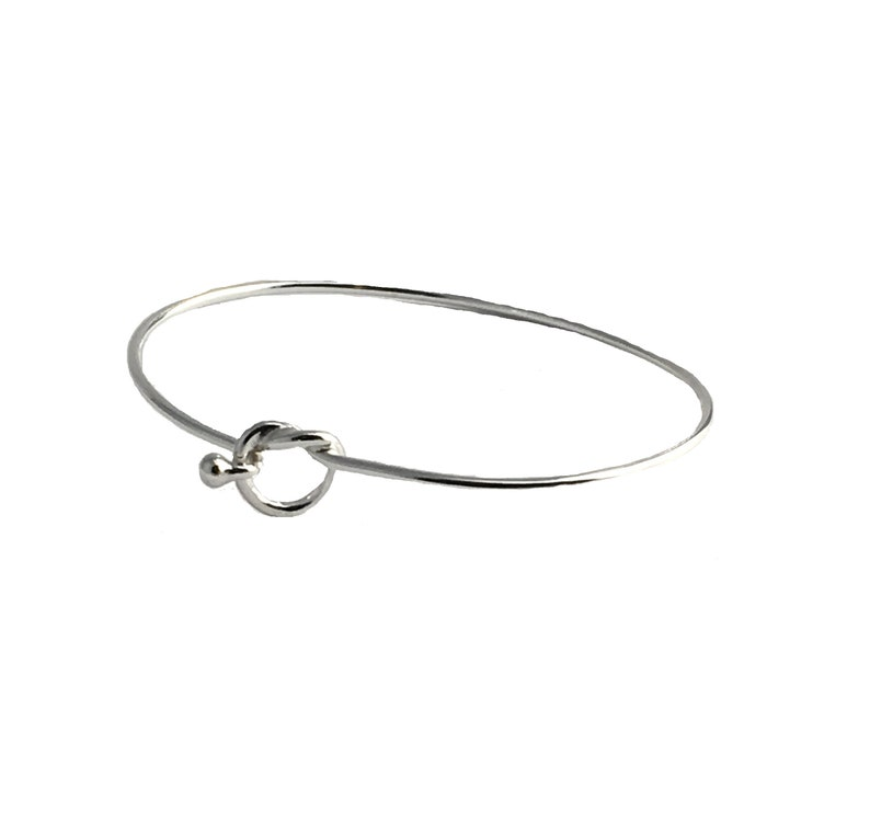Will You Be My Bridesmaid Gift Love Wedding Jewelry Friendship Bracelet Sterling Silver Tie The Knot Heart Bangle