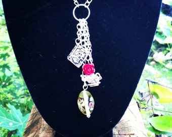Luna Bella Princess Inspired Charm Necklace