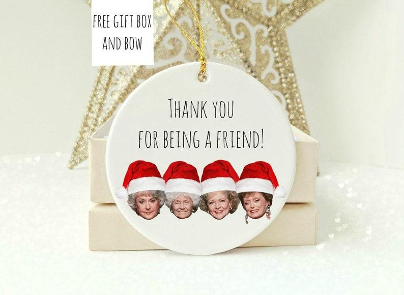 Golden Girls Ornament  Best Friend Gifts  Christmas image 1