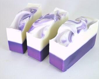 Lavender Soap - All Natural Soap Bar - Homemade Soap - Cold Process Soap - Shea Butter Soap - Vegan Soap - Essential Oil Soap