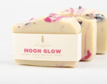 Moon Glow Homemade Soap - Shea Butter Soap - Luxury Bar Soap - Gift for Her - Stocking Stuffer