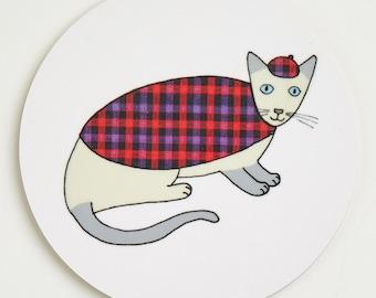 Cat Coaster - Siamese