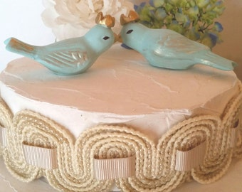 Bird cake toppers | Etsy