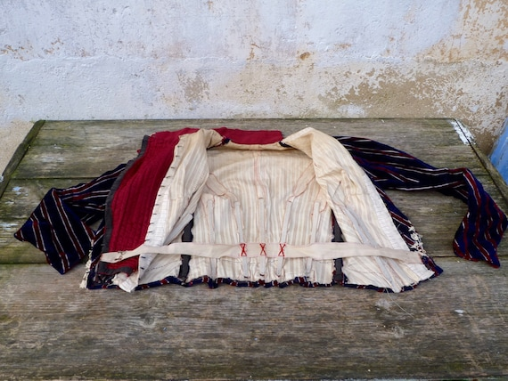 Vintage Antique  1850/1890 Victorian old French s… - image 9