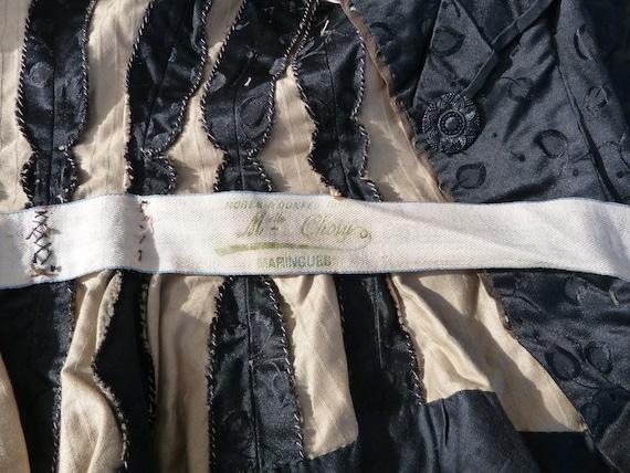 Vintage Antique 1870/1900 French Victorian black … - image 5