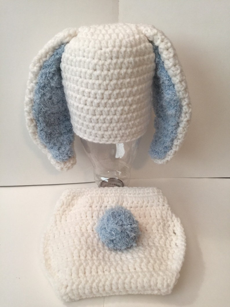 Floppy Ear Bunny Outfit/ Set  Any Size and Color Combo image 0