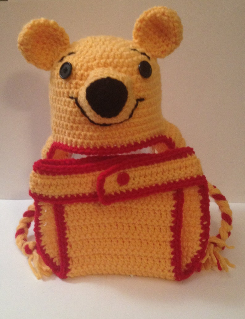 Winnie the Pooh  Hat & Diaper Cover  Newborn to 12 months image 0